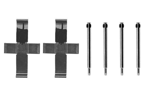 Kit de montage plaquettes de frein BOSCH 1 987 474 067 (X1)