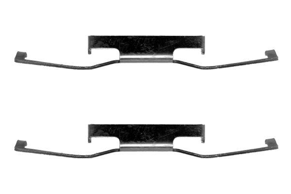 Kit de montage plaquettes de frein BOSCH 1 987 474 072 (X1)