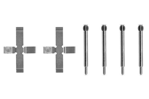 Kit de montage plaquettes de frein BOSCH 1 987 474 093 (X1)