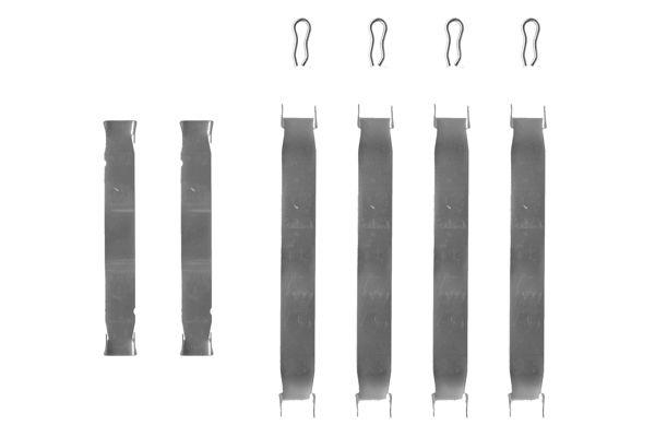 Kit de montage plaquettes de frein BOSCH 1 987 474 097 (X1)