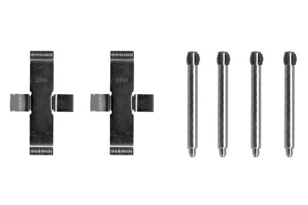 Kit de montage plaquettes de frein BOSCH 1 987 474 101 (X1)