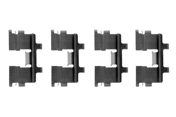 Kit de montage plaquettes de frein BOSCH 1 987 474 121 (X1)