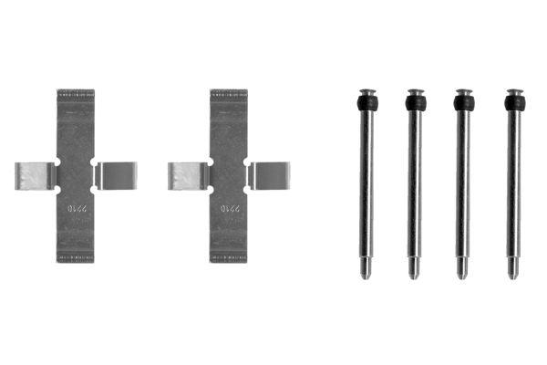 Kit de montage plaquettes de frein BOSCH 1 987 474 128 (X1)