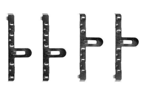 Kit de montage plaquettes de frein BOSCH 1 987 474 137 (X1)
