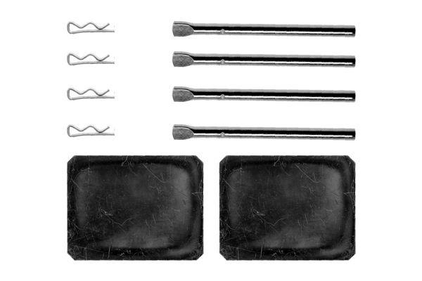 Kit de montage plaquettes de frein BOSCH 1 987 474 156 (X1)