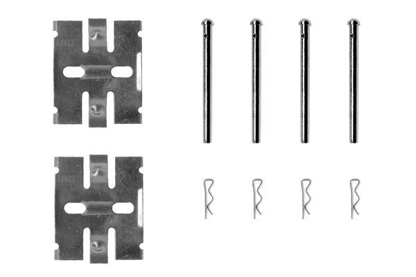 Kit de montage plaquettes de frein BOSCH 1 987 474 168 (X1)