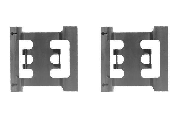 Kit de montage plaquettes de frein BOSCH 1 987 474 191 (X1)