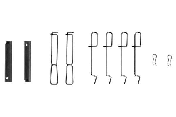 Kit de montage plaquettes de frein BOSCH 1 987 474 195 (X1)