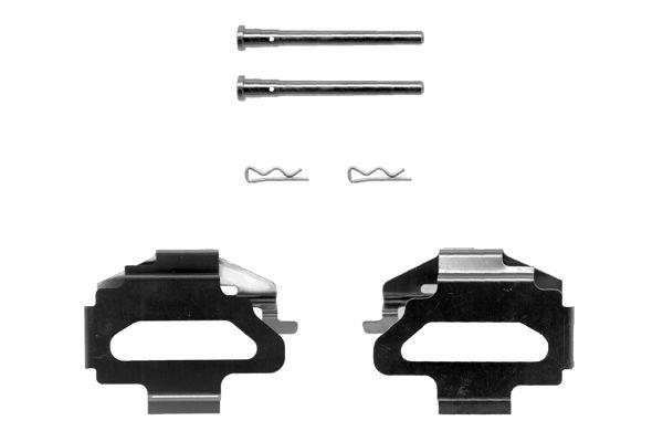 Kit de montage plaquettes de frein BOSCH 1 987 474 199 (X1)