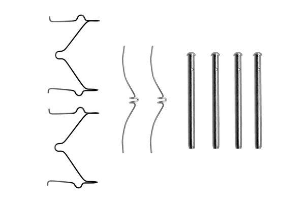 Kit de montage plaquettes de frein BOSCH 1 987 474 208 (X1)