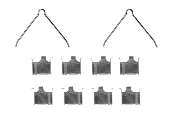 Kit de montage plaquettes de frein BOSCH 1 987 474 234 (X1)