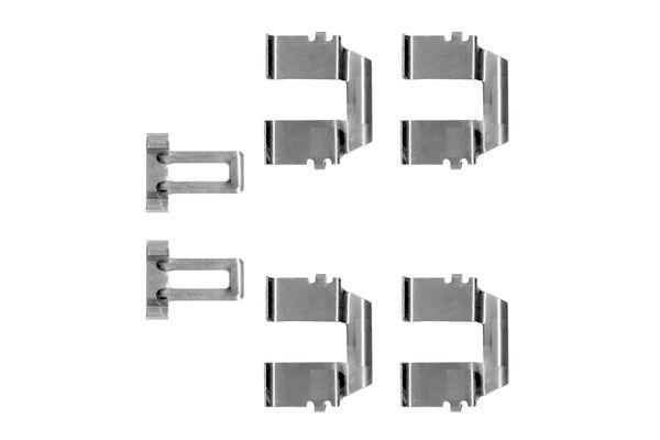 Kit de montage plaquettes de frein BOSCH 1 987 474 264 (X1)