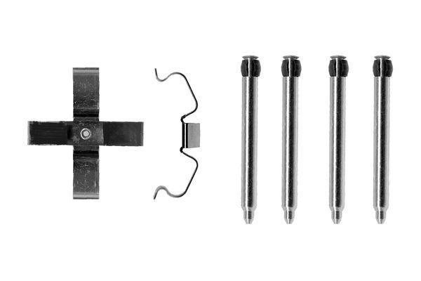 Kit de montage plaquettes de frein BOSCH 1 987 474 277 (X1)