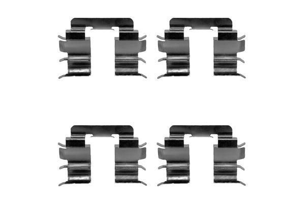 Kit de montage plaquettes de frein BOSCH 1 987 474 281 (X1)
