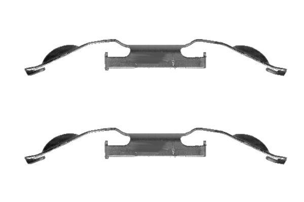 Kit de montage plaquettes de frein BOSCH 1 987 474 306 (X1)