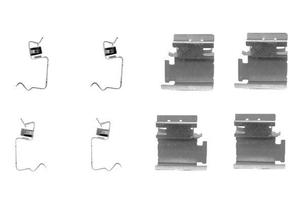 Kit de montage plaquettes de frein BOSCH 1 987 474 311 (X1)