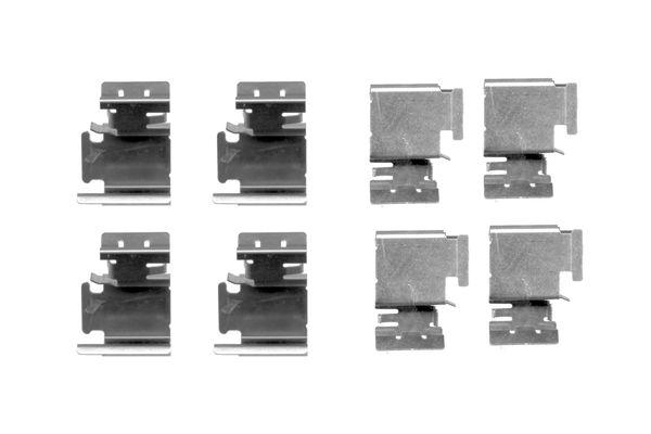 Kit de montage plaquettes de frein BOSCH 1 987 474 312 (X1)