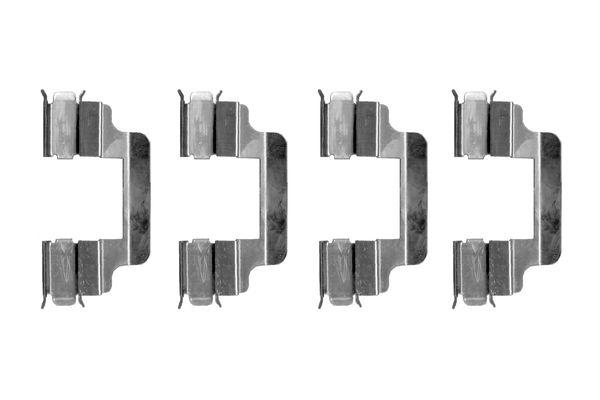 Kit de montage plaquettes de frein BOSCH 1 987 474 315 (X1)