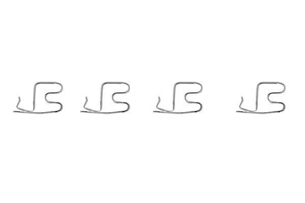 Kit de montage plaquettes de frein BOSCH 1 987 474 317 (X1)