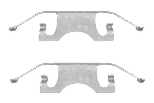 Kit de montage plaquettes de frein BOSCH 1 987 474 323 (X1)