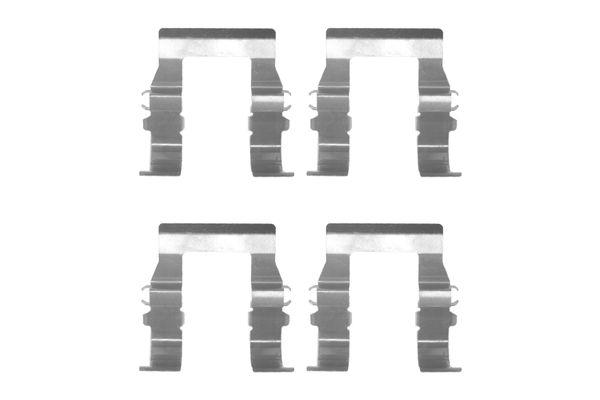 Kit de montage plaquettes de frein BOSCH 1 987 474 325 (X1)