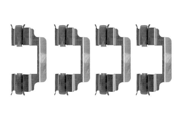 Kit de montage plaquettes de frein BOSCH 1 987 474 328 (X1)