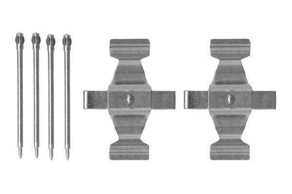 Kit de montage plaquettes de frein BOSCH 1 987 474 338 (X1)
