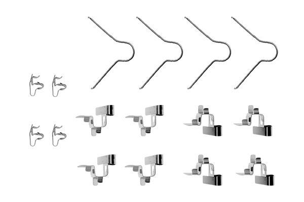 Kit de montage plaquettes de frein BOSCH 1 987 474 343 (X1)