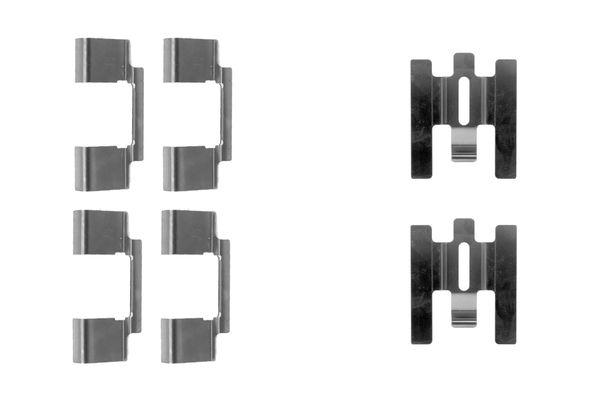Kit de montage plaquettes de frein BOSCH 1 987 474 355 (X1)