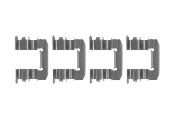 Kit de montage plaquettes de frein BOSCH 1 987 474 361 (X1)