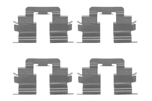 Kit de montage plaquettes de frein BOSCH 1 987 474 370 (X1)
