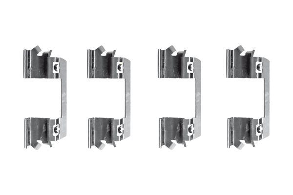 Kit de montage plaquettes de frein BOSCH 1 987 474 376 (X1)