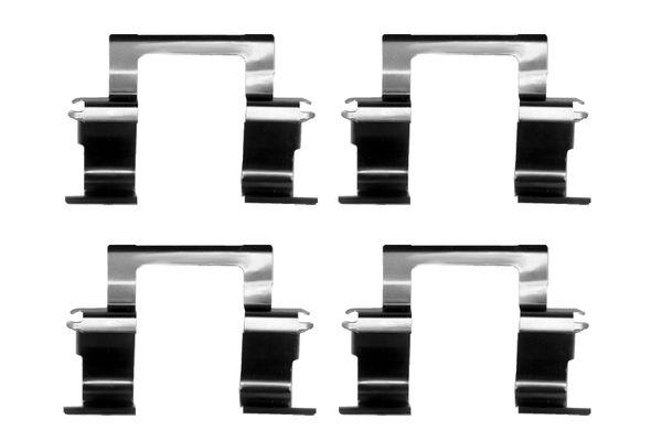 Kit de montage plaquettes de frein BOSCH 1 987 474 387 (X1)