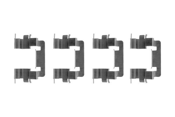 Kit de montage plaquettes de frein BOSCH 1 987 474 390 (X1)