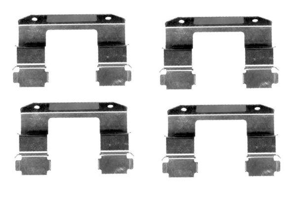 Kit de montage plaquettes de frein BOSCH 1 987 474 405 (X1)