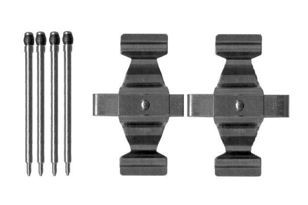 Kit de montage plaquettes de frein BOSCH 1 987 474 411 (X1)