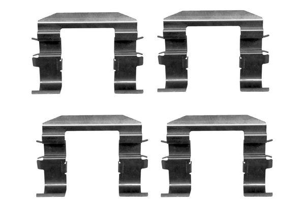 Kit de montage plaquettes de frein BOSCH 1 987 474 420 (X1)