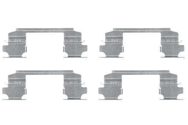 Kit de montage plaquettes de frein BOSCH 1 987 474 436 (X1)