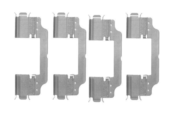 Kit de montage plaquettes de frein BOSCH 1 987 474 451 (X1)