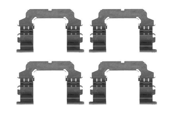 Kit de montage plaquettes de frein BOSCH 1 987 474 462 (X1)