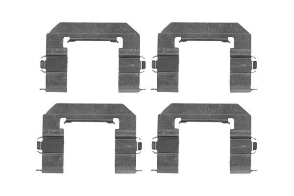 Kit de montage plaquettes de frein BOSCH 1 987 474 473 (X1)