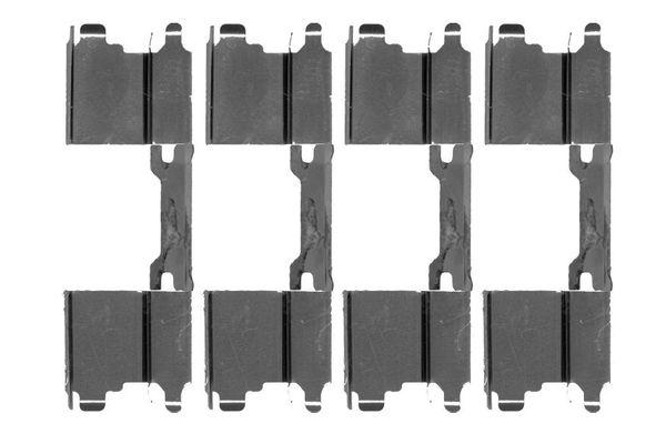 Kit de montage plaquettes de frein BOSCH 1 987 474 474 (X1)