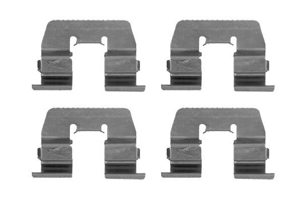 Kit de montage plaquettes de frein BOSCH 1 987 474 475 (X1)