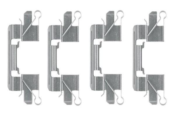 Kit de montage plaquettes de frein BOSCH 1 987 474 477 (X1)
