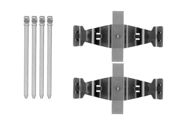 Kit de montage plaquettes de frein BOSCH 1 987 474 482 (X1)