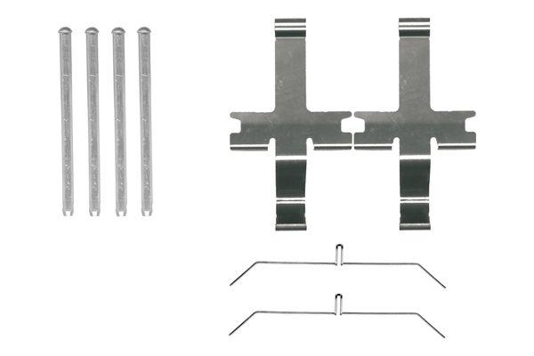 Kit de montage plaquettes de frein BOSCH 1 987 474 485 (X1)