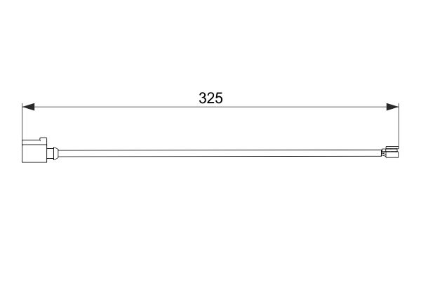 Temoin d'usure de frein BOSCH 1 987 474 567