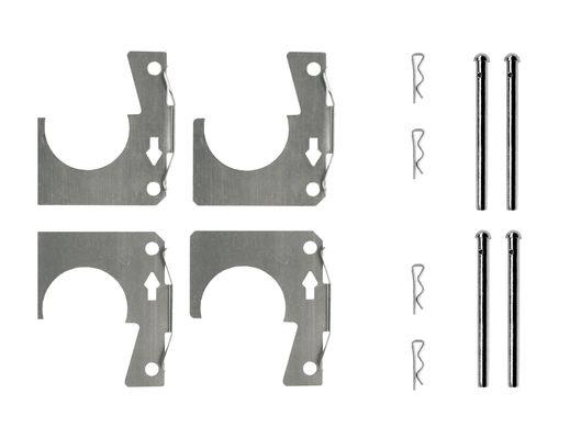 Kit de montage plaquettes de frein BOSCH 1 987 474 602 (X1)