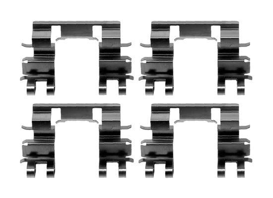 Kit de montage plaquettes de frein BOSCH 1 987 474 607 (X1)