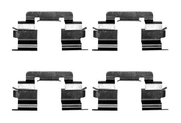 Kit de montage plaquettes de frein BOSCH 1 987 474 625 (X1)